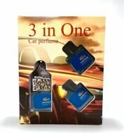Car perfume 3 in One LACOSTE L.12.12 BLEU POUR HOMME