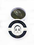 Гидрогелевые патчи Qalma Ginseng Berry Eye Mask Black Pearl 60 шт.