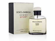 DOLCE AND GABBANA HOMME SPORT 125ml