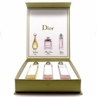 ПОДАРОЧНЫЙ НАБОР DIOR  J'ADORE MISS DIOR CHERIE BL. BOUQ. ADDICT  FOR WOMEN 3x20ml