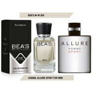 BEA'S Beauty & Scent № М209 Chanel Allure Homme Sport for man 50 ml.