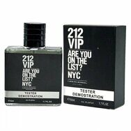 Тестер Carolina Herrera 212 VIP for man edp 50 мл.