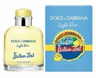 Dolce&Gabbana .Light Blue Italian Zest Pour Homme.125ml