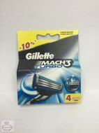 GILLETTE MACH3 Turbo 4 шт.