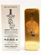 Тестер PACO RABANNE 1 MILLION AU MONOPOLY EDT for man 100 ml.